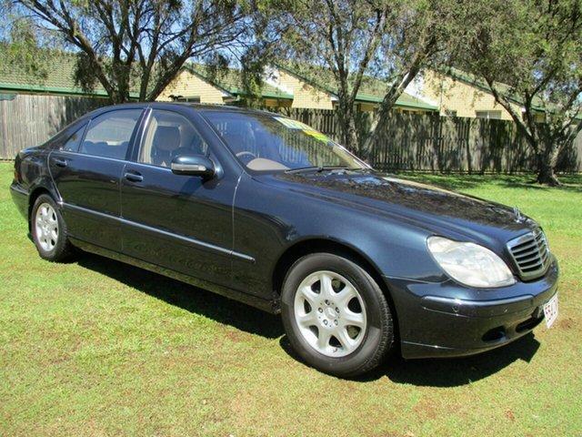 Used Mercedes-Benz S-Class W220 S320 Kippa-Ring, 2001 Mercedes-Benz S-Class W220 S320 Blue 5 Speed Automatic Sedan