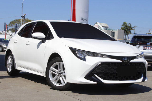 Used Toyota Corolla Mzea12R Ascent Sport Albion, 2020 Toyota Corolla Mzea12R Ascent Sport Glacier White 10 Speed Constant Variable Hatchback