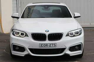 2017 BMW 2 Series F22 230i M Sport White 8 Speed Sports Automatic Coupe