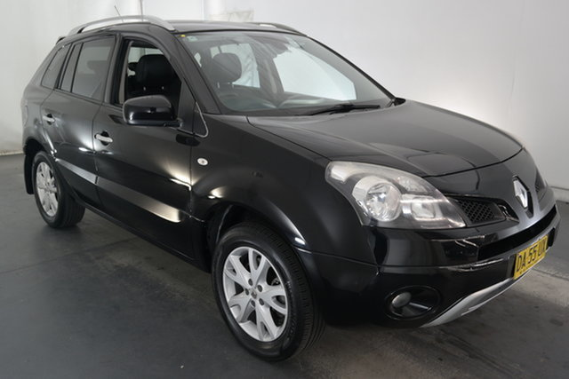 Used Renault Koleos H45 MY10 Dynamique Maryville, 2011 Renault Koleos H45 MY10 Dynamique Black 1 Speed Constant Variable Wagon