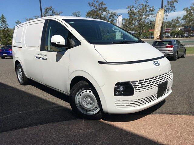 New Hyundai Staria Load Gladstone, 2021 Hyundai Staria Load US4.V1 LOAD White Automatic Van