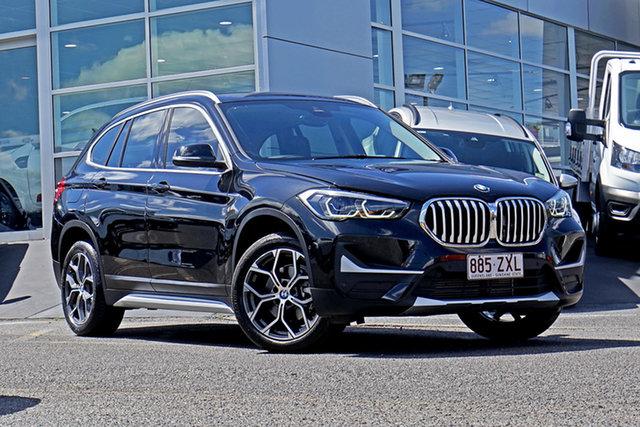 Used BMW X1 F48 LCI sDrive18d Steptronic Springwood, 2019 BMW X1 F48 LCI sDrive18d Steptronic Black 8 Speed Sports Automatic Wagon