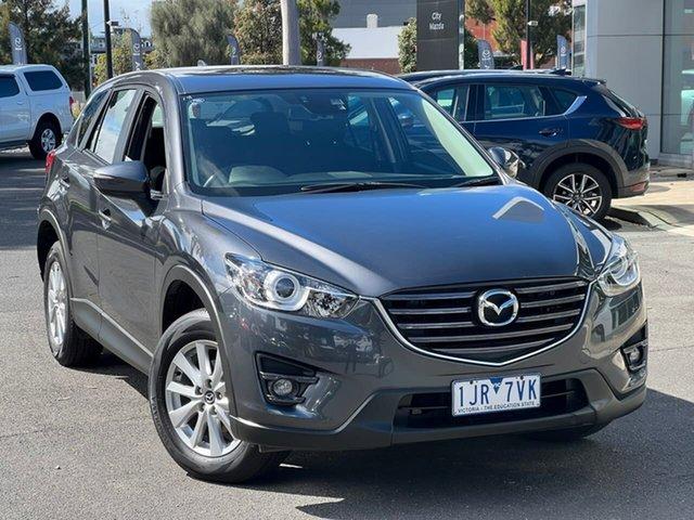 Used Mazda CX-5 KE1072 Maxx SKYACTIV-Drive FWD Sport South Melbourne, 2017 Mazda CX-5 KE1072 Maxx SKYACTIV-Drive FWD Sport Meteor Grey 6 Speed Sports Automatic Wagon
