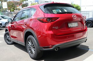 2021 Mazda CX-5 KF4WLA Maxx SKYACTIV-Drive i-ACTIV AWD Sport Soul Red Crystal 6 Speed.