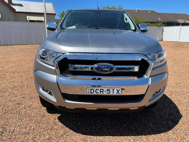 Used Ford Ranger PX MkII XLT Double Cab Raymond Terrace, 2015 Ford Ranger PX MkII XLT Double Cab Aluminium 6 Speed Sports Automatic Utility