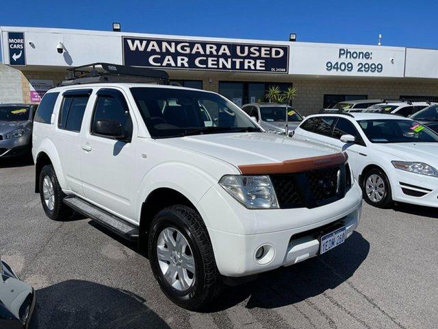 Used Nissan Pathfinder R51 ST-L (4x4) Wangara, 2005 Nissan Pathfinder R51 ST-L (4x4) White 5 Speed Automatic Wagon