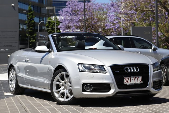 Used Audi A5 8T MY11 Sportback S Tronic Quattro Newstead, 2011 Audi A5 8T MY11 Sportback S Tronic Quattro Silver 7 Speed Sports Automatic Dual Clutch