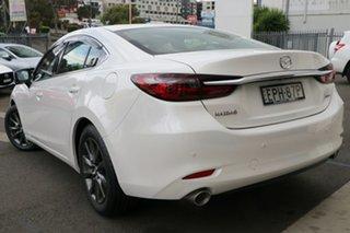 2021 Mazda 6 GL1033 Touring SKYACTIV-Drive Snowflake White Pearl 6 Speed Sports Automatic Sedan.