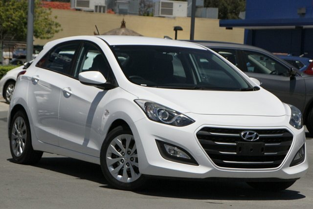 Used Hyundai i30 GD4 Series II MY17 Active Aspley, 2016 Hyundai i30 GD4 Series II MY17 Active White 6 Speed Sports Automatic Hatchback