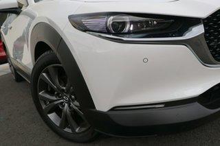2021 Mazda CX-30 DM2WLA G25 SKYACTIV-Drive Astina Snowflake White Pearl 6 Speed Sports Automatic.