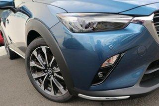 2021 Mazda CX-3 DK2W7A Akari SKYACTIV-Drive FWD Eternal Blue 6 Speed Sports Automatic Wagon.