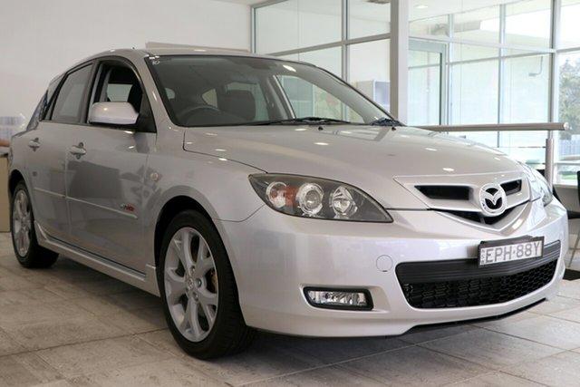 Used Mazda 3 BK1032 SP23 Wollongong, 2007 Mazda 3 BK1032 SP23 Silver 6 Speed Manual Hatchback