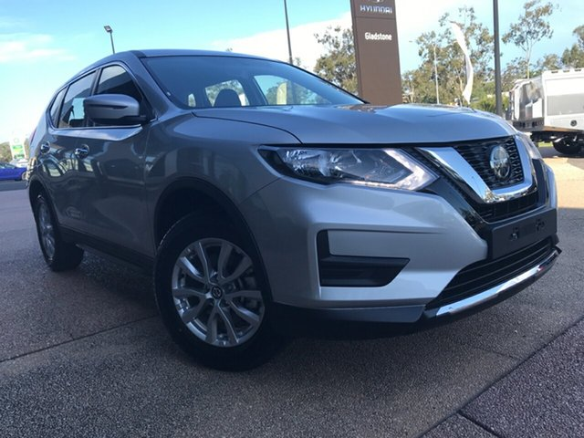 New Nissan X-Trail T32 MY21 ST X-tronic 2WD South Gladstone, 2021 Nissan X-Trail T32 MY21 ST X-tronic 2WD Silver 7 Speed Constant Variable Wagon