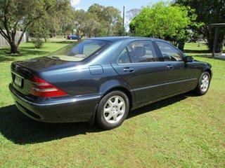 2001 Mercedes-Benz S-Class W220 S320 Blue 5 Speed Automatic Sedan