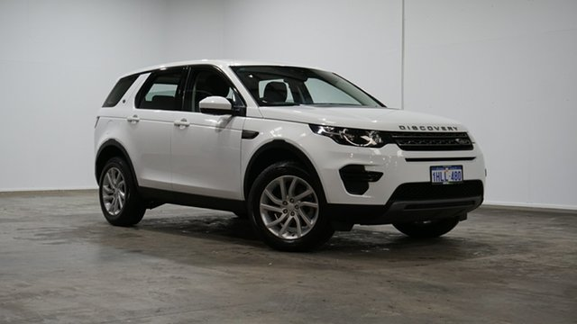Used Land Rover Discovery Sport L550 18MY SE Welshpool, 2018 Land Rover Discovery Sport L550 18MY SE White 9 Speed Sports Automatic Wagon