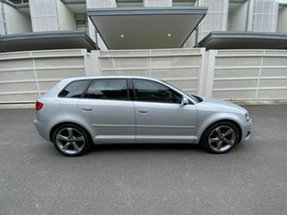 2012 Audi A3 8P MY12 Ambition Sportback S Tronic Quattro Silver 6 Speed Sports Automatic Dual Clutch.