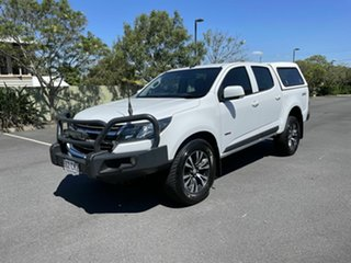 2017 Holden Colorado RG MY17 LS White 6 Speed Automatic Dual Cab.