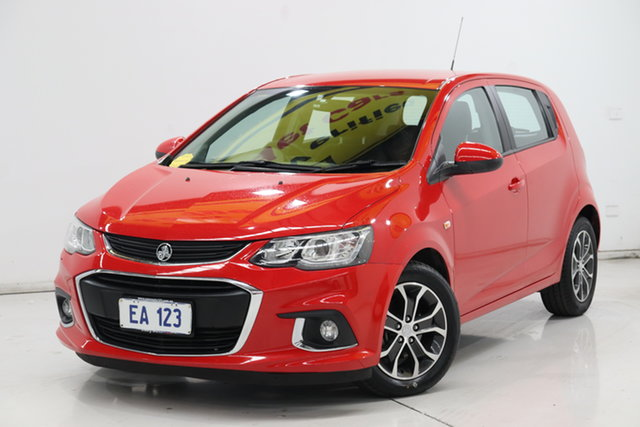 Used Holden Barina TM MY17 LS Brooklyn, 2016 Holden Barina TM MY17 LS Red 6 Speed Automatic Hatchback