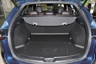 2021 Mazda CX-5 KF4WLA Akera SKYACTIV-Drive i-ACTIV AWD Blue 6 Speed Sports Automatic Wagon