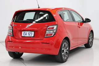 2016 Holden Barina TM MY17 LS Red 6 Speed Automatic Hatchback