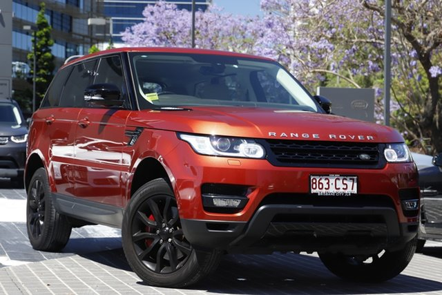 Used Land Rover Range Rover Sport L494 MY14.5 SDV8 HSE Dynamic Newstead, 2014 Land Rover Range Rover Sport L494 MY14.5 SDV8 HSE Dynamic Chile 8 Speed Sports Automatic Wagon