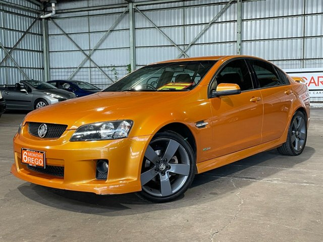 Used Holden Commodore VE MY09.5 SV6 Rocklea, 2009 Holden Commodore VE MY09.5 SV6 Orange 5 Speed Sports Automatic Sedan