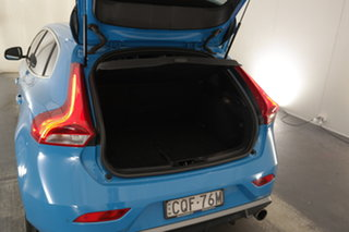 2013 Volvo V40 M Series MY13 T5 Adap Geartronic R-Design Blue 6 Speed Sports Automatic Hatchback
