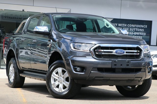 Used Ford Ranger PX MkIII 2020.25MY XLT Homebush, 2020 Ford Ranger PX MkIII 2020.25MY XLT Grey 6 Speed Sports Automatic Double Cab Pick Up
