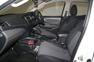 2016 Mitsubishi Triton MQ MY17 GLX Double Cab 4x2 White 5 Speed Sports Automatic Utility
