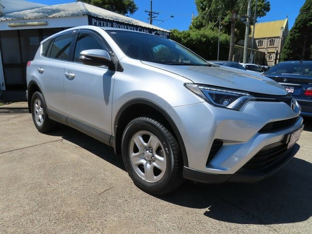 Used Toyota RAV4 ZSA42R MY16 GX (2WD) Toowoomba, 2016 Toyota RAV4 ZSA42R MY16 GX (2WD) Silver Continuous Variable Wagon