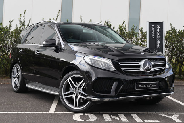Certified Pre-Owned Mercedes-Benz GLE-Class W166 807MY GLE250 d 9G-Tronic 4MATIC Mulgrave, 2017 Mercedes-Benz GLE-Class W166 807MY GLE250 d 9G-Tronic 4MATIC Obsidian Black 9 Speed