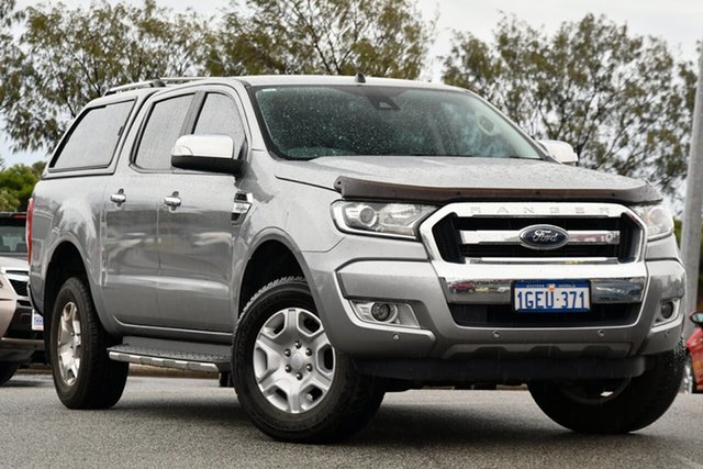 Used Ford Ranger PX MkII XLT Double Cab Clarkson, 2017 Ford Ranger PX MkII XLT Double Cab Silver 6 Speed Sports Automatic Utility