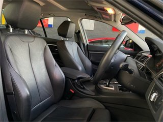 2016 BMW 3 Series F30 LCI 318i Sport Line Blue Sports Automatic Sedan