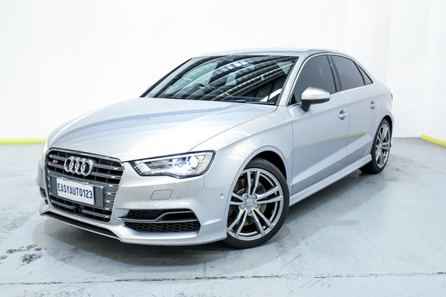 Used Audi S3 8V MY17 S Tronic Quattro Canning Vale, 2017 Audi S3 8V MY17 S Tronic Quattro Silver 7 Speed Sports Automatic Dual Clutch Sedan