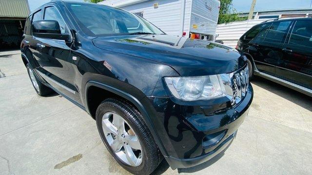 Used Jeep Grand Cherokee WK MY2012 Overland Maidstone, 2012 Jeep Grand Cherokee WK MY2012 Overland Black 5 Speed Sports Automatic Wagon