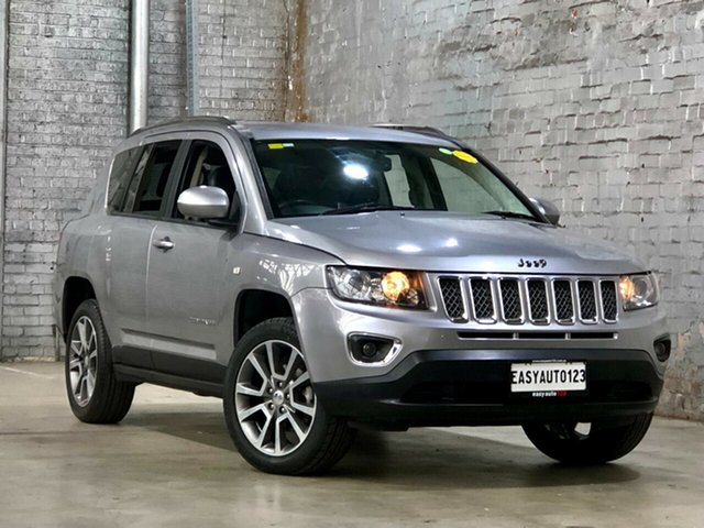 Used Jeep Compass MK MY14 Limited Mile End South, 2014 Jeep Compass MK MY14 Limited Silver 6 Speed Sports Automatic Wagon