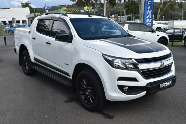 Used Holden Colorado RG MY17 Z71 Pickup Crew Cab Gosford, 2017 Holden Colorado RG MY17 Z71 Pickup Crew Cab White 6 Speed Sports Automatic Utility