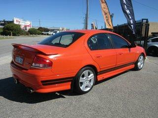 2003 Ford Falcon BA XR8 Orange 5 Speed Manual Sedan.