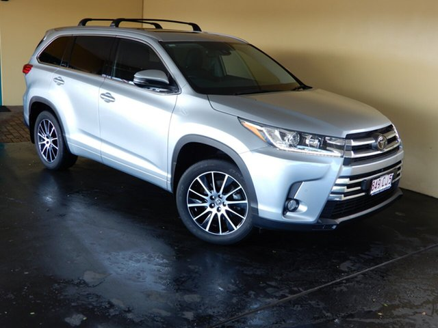 Used Toyota Kluger GSU50R Grande (4x2) Toowoomba, 2018 Toyota Kluger GSU50R Grande (4x2) Silver 8 Speed Automatic Wagon
