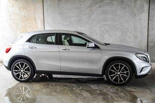 2015 Mercedes-Benz GLA-Class X156 805+055MY GLA250 DCT 4MATIC Silver, Chrome 7 Speed.