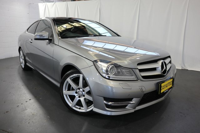 Used Mercedes-Benz C-Class C204 C250 7G-Tronic + Avantgarde Castle Hill, 2015 Mercedes-Benz C-Class C204 C250 7G-Tronic + Avantgarde Silver 7 Speed Sports Automatic Coupe