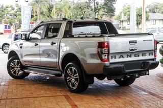 2021 Ford Ranger PX MkIII 2021.75MY Wildtrak Silver 10 Speed Sports Automatic Double Cab Pick Up