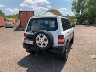 2000 Mitsubishi Pajero White 4 Speed Auto Active Select Wagon