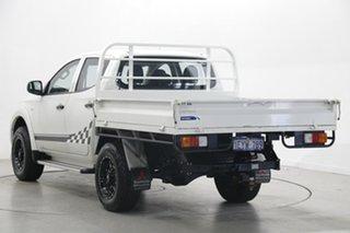2016 Mitsubishi Triton MQ MY17 GLX Double Cab 4x2 White 5 Speed Sports Automatic Utility.
