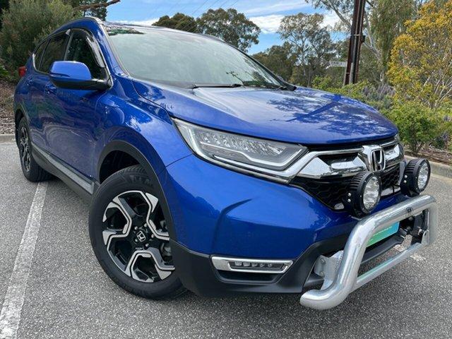 Used Honda CR-V RW MY20 VTi-LX 4WD Totness, 2019 Honda CR-V RW MY20 VTi-LX 4WD Blue 1 Speed Constant Variable Wagon