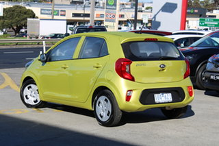 2021 Kia Picanto JA MY21 S Lime Green 4 Speed Automatic Hatchback.