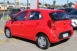 2021 Kia Picanto JA MY22 S Signal Red 4 Speed Automatic Hatchback
