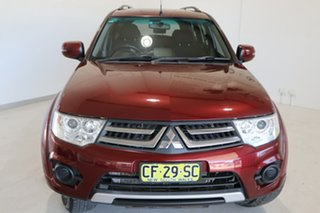 2015 Mitsubishi Challenger PC (KH) MY14 Red 5 Speed Sports Automatic Wagon
