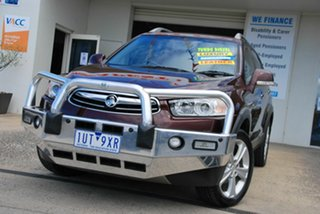 2013 Holden Captiva CG MY12 7 LX (4x4) Maroon 6 Speed Automatic Wagon.