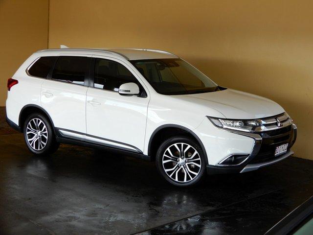 Used Mitsubishi Outlander ZL MY19 LS 7 Seat (AWD) Toowoomba, 2018 Mitsubishi Outlander ZL MY19 LS 7 Seat (AWD) White 6 Speed Automatic Wagon